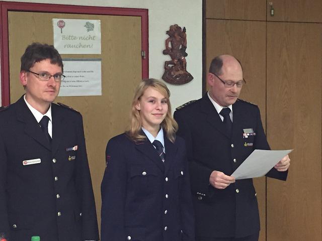 73. Jahreshauptversammlung der Freiwilligen Feuerwehr Abteilung Bruchhausen
