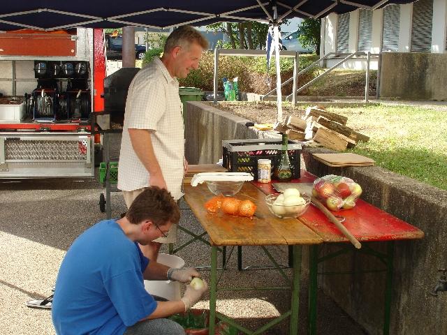 Traditionelles Flammkuchenessen 10.07.2010