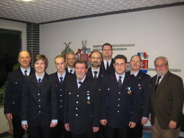 67. Jahreshauptversammlung der Freiwilligen Feuerwehr Abt. Bruchhausen