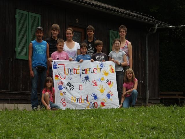 Jugendfeuerwehr Bruchhausen auf Sommertour 29.07.2010