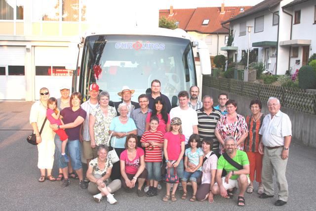 Tagesausflug der Freiwilligen Feuerwehr Ettlingen Abt. Bruchhausen