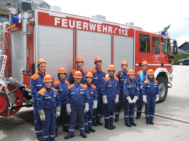 Jugendfeuerwehr Bruchhausen verabschiedet sich in die Sommerferien