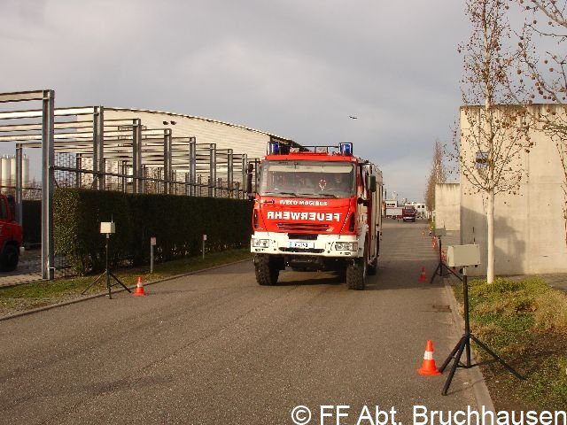 Fahrsicherheitstraining an der Landesfeuerwehrschule 28.11.2009