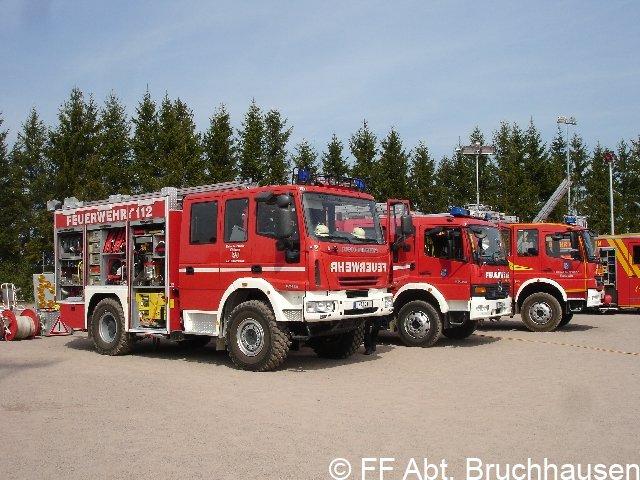 Fahrzeugausstellung 100 Jahre Freiwillige Feuerwehr Langensteinbach 24.04.2010