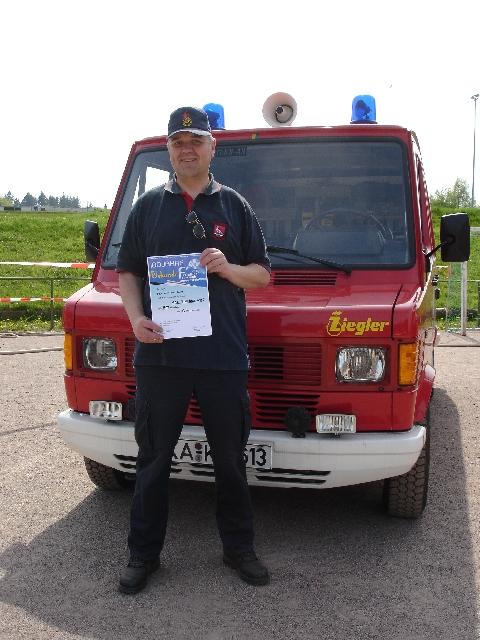 Sternfahrt 100 Jahre Freiwillige Feuerwehr Langensteinbach 25.10.2010