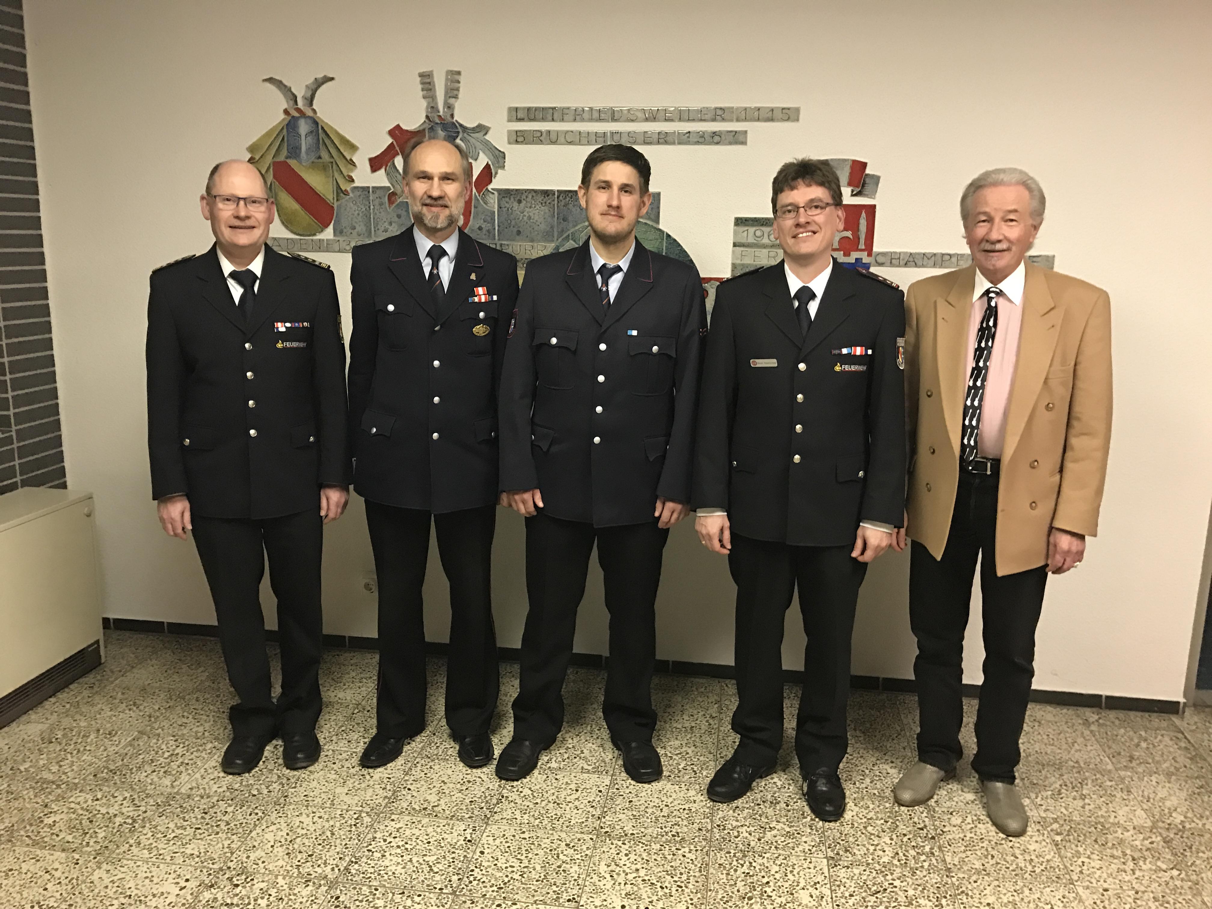 74. Jahreshauptversammlung der Freiwilligen Feuerwehr Abteilung Bruchhausen