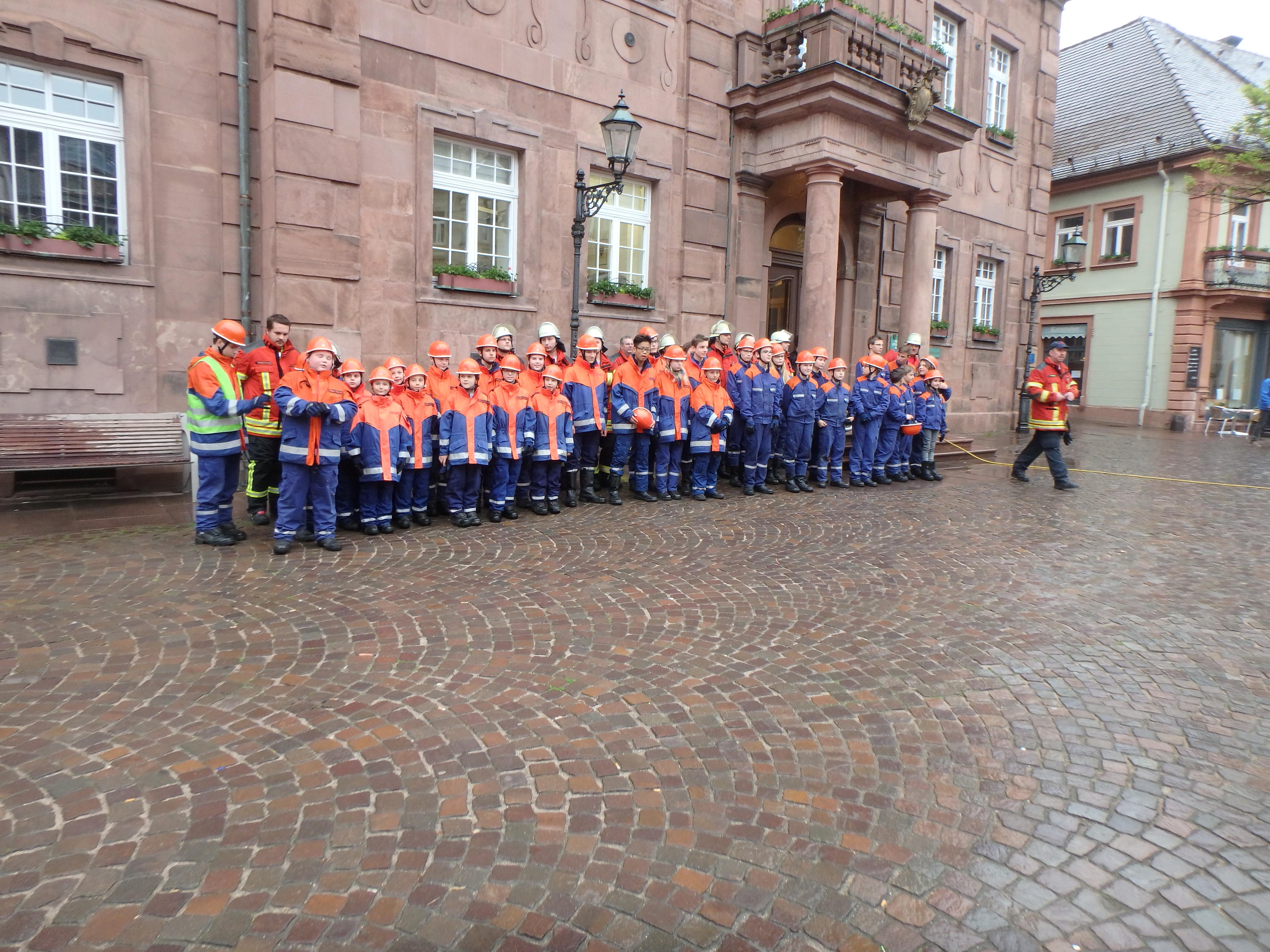 Stadtjugendübung der Freiwilligen Feuerwehr Ettlingen